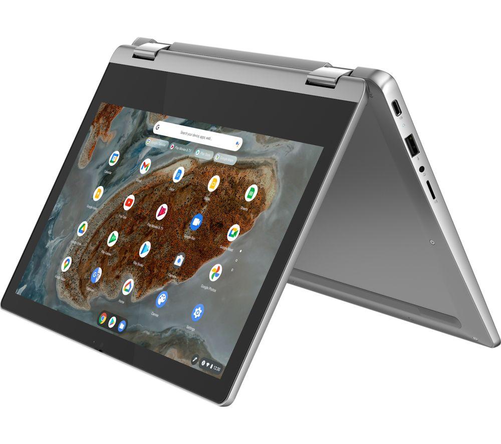 "LENOVO IdeaPad Flex 3 11.6"" 2 in 1 Chromebook - MediaTek MT8183, 64 GB eMMC, Grey"
