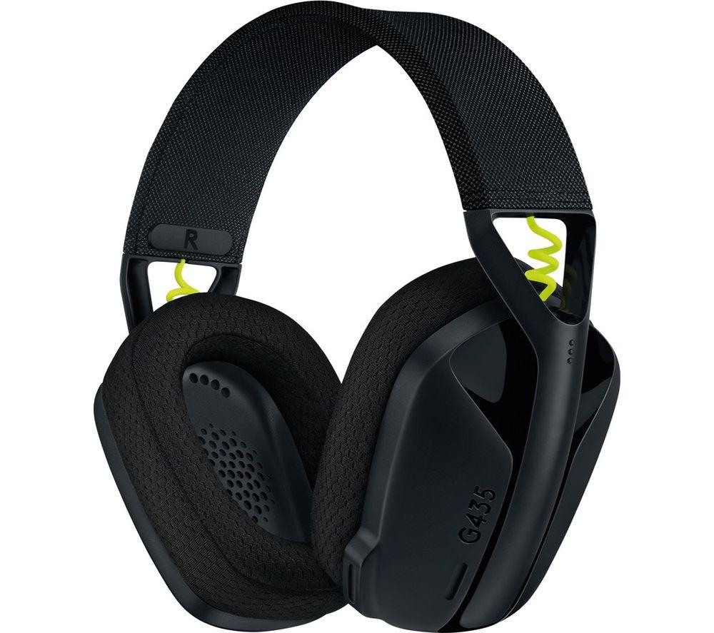 LOGITECH G435 Wireless 7.1 Gaming Headset - Black
