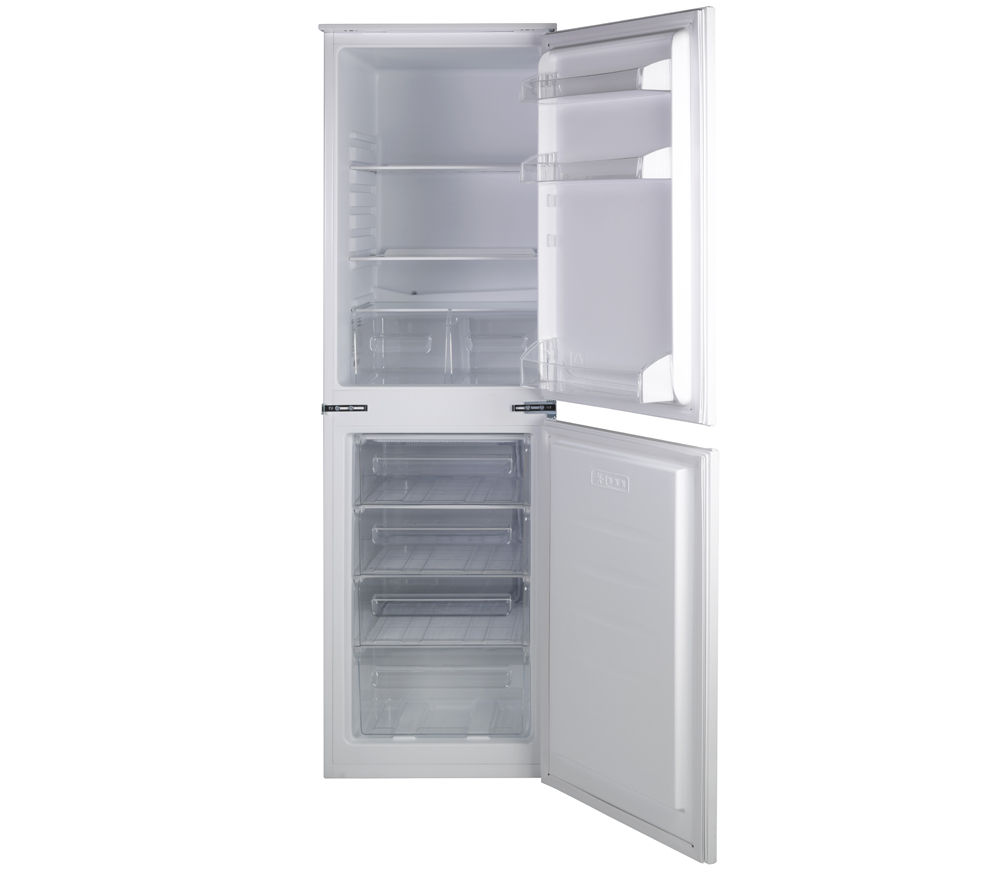 essentials ciff5012 integrated fridge freezer