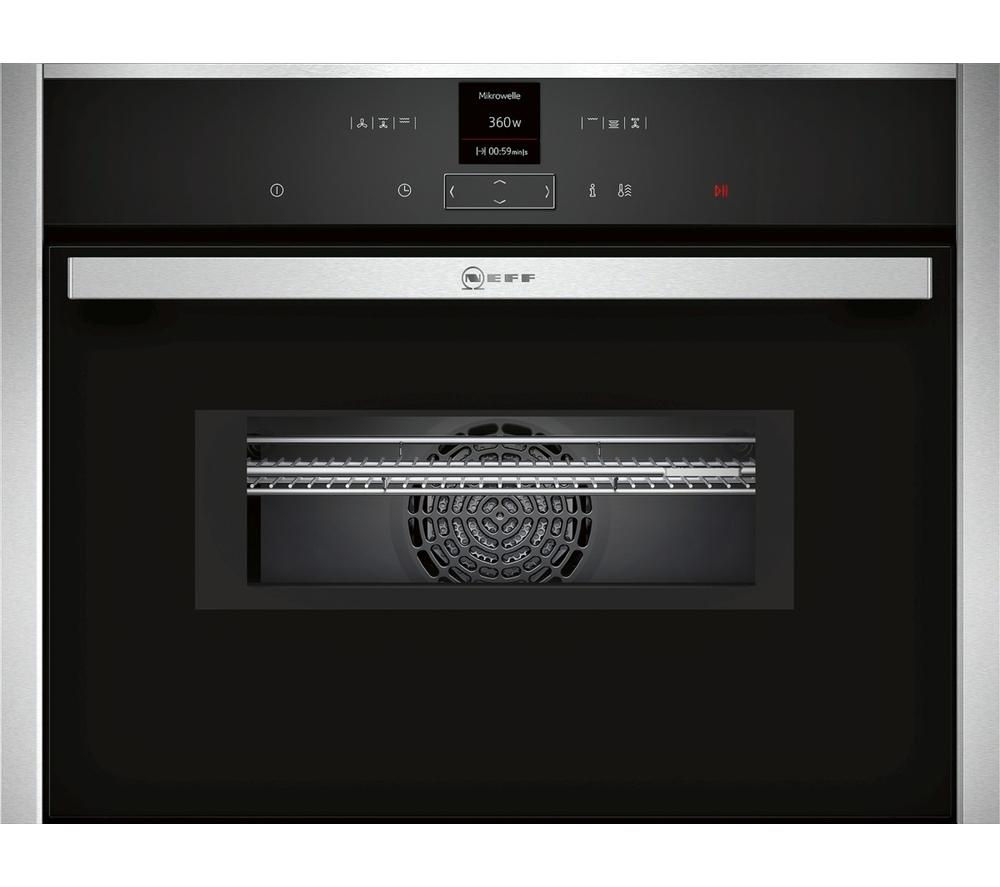 NEFF N70 C17MR02N0B Built-in Combination Microwave – Stainless Steel, Stainless Steel