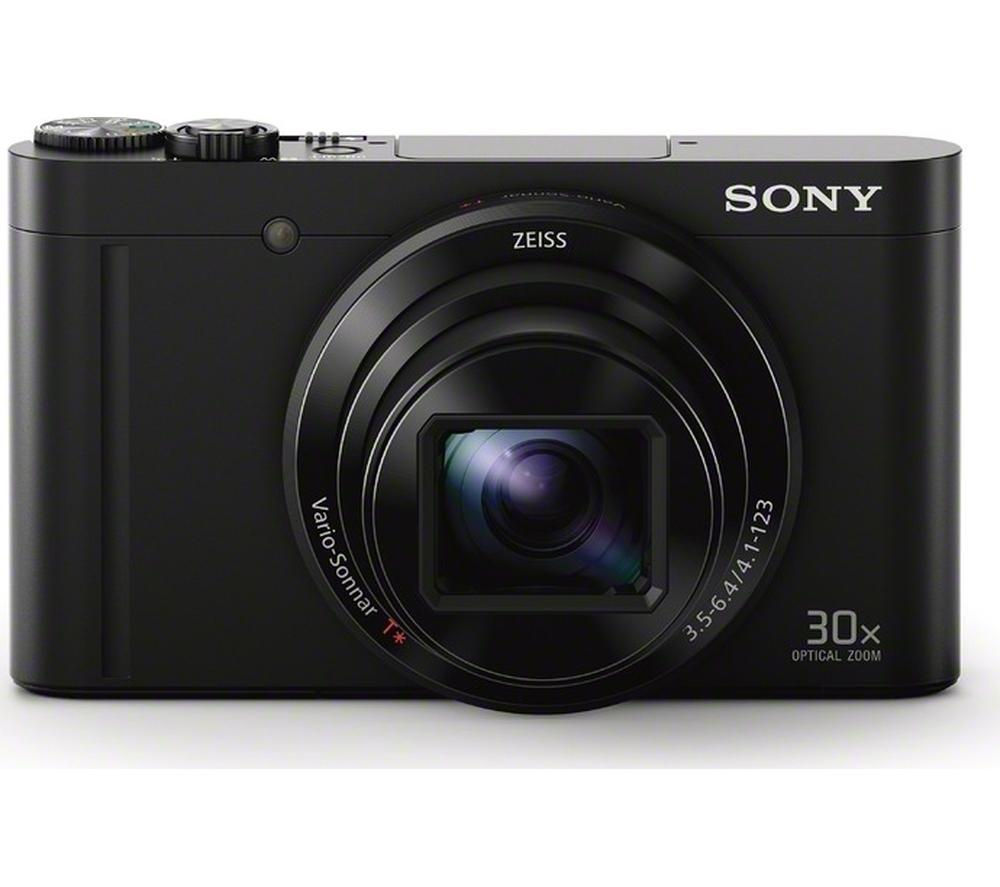 SONY Cyber-shot DSC-WX500B Superzoom Compact Camera - Black