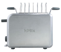 KENWOOD kMix 0WTTM020S1 2-Slice Toaster - Stainless Steel