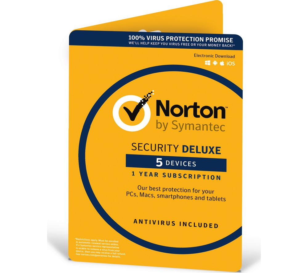 Compare retail prices of Norton Security 2016 5 devices for 1 year to get the best deal online