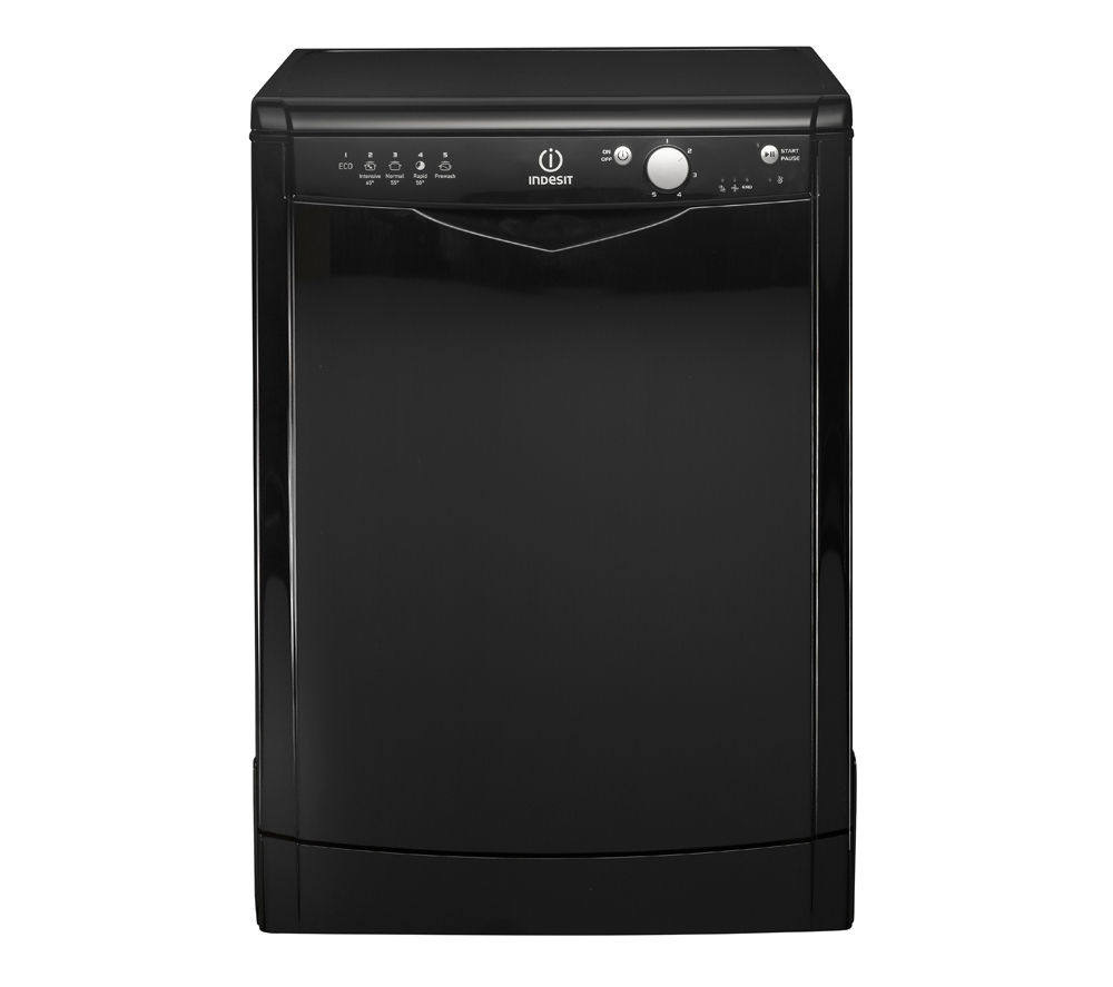 INDESIT DFG15B1K Full-size Dishwasher - Black