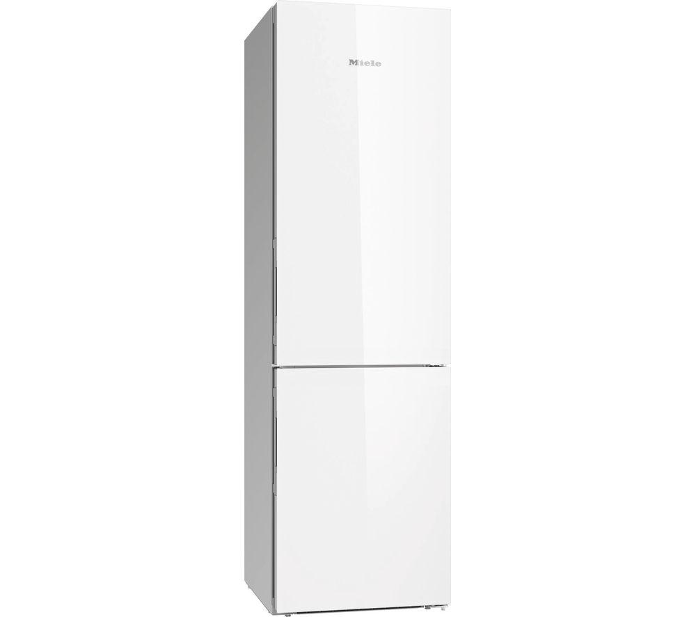 MIELE KFN 29683 D brwh 70/30 Fridge Freezer - White