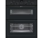 NEFF U17M42S5GB Electric Built-under Double Oven - Black