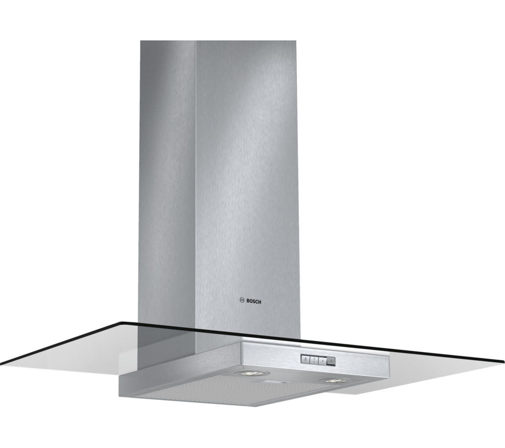 Image of BOSCH Serie 2 Classixx DWA094W50B Chimney Cooker Hood - Stainless Steel, Stainless Steel