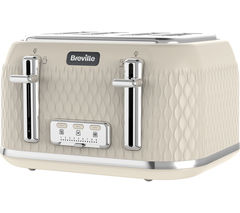 Curve VTT788 4-Slice Toaster - Cream