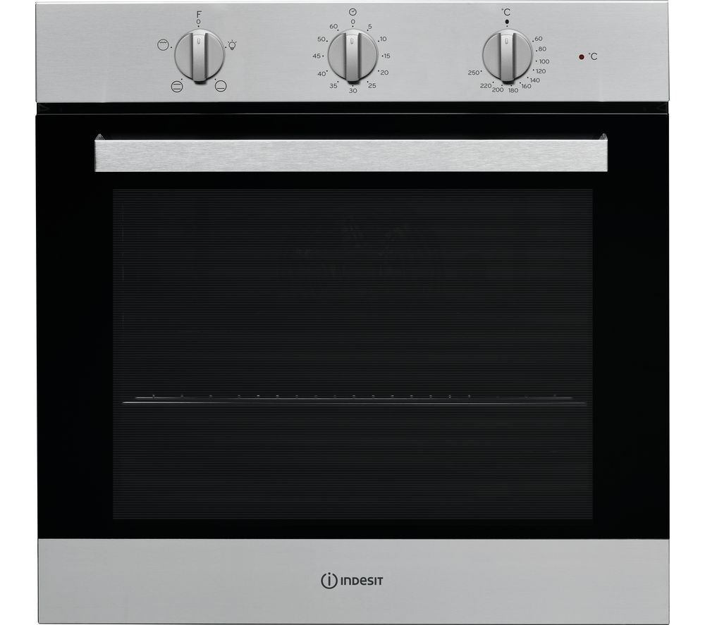 Image of INDESIT IFW 6230 IX UK Electric Oven - Stainless Steel, Stainless Steel
