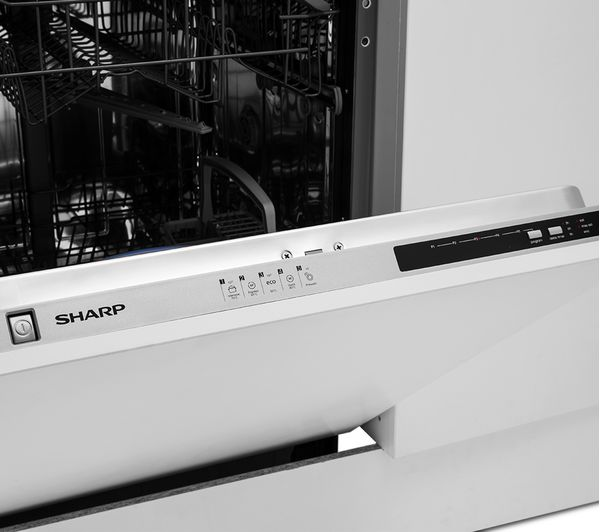 Buy Sharp Qw D21i492x Full Size Integrated Dishwasher