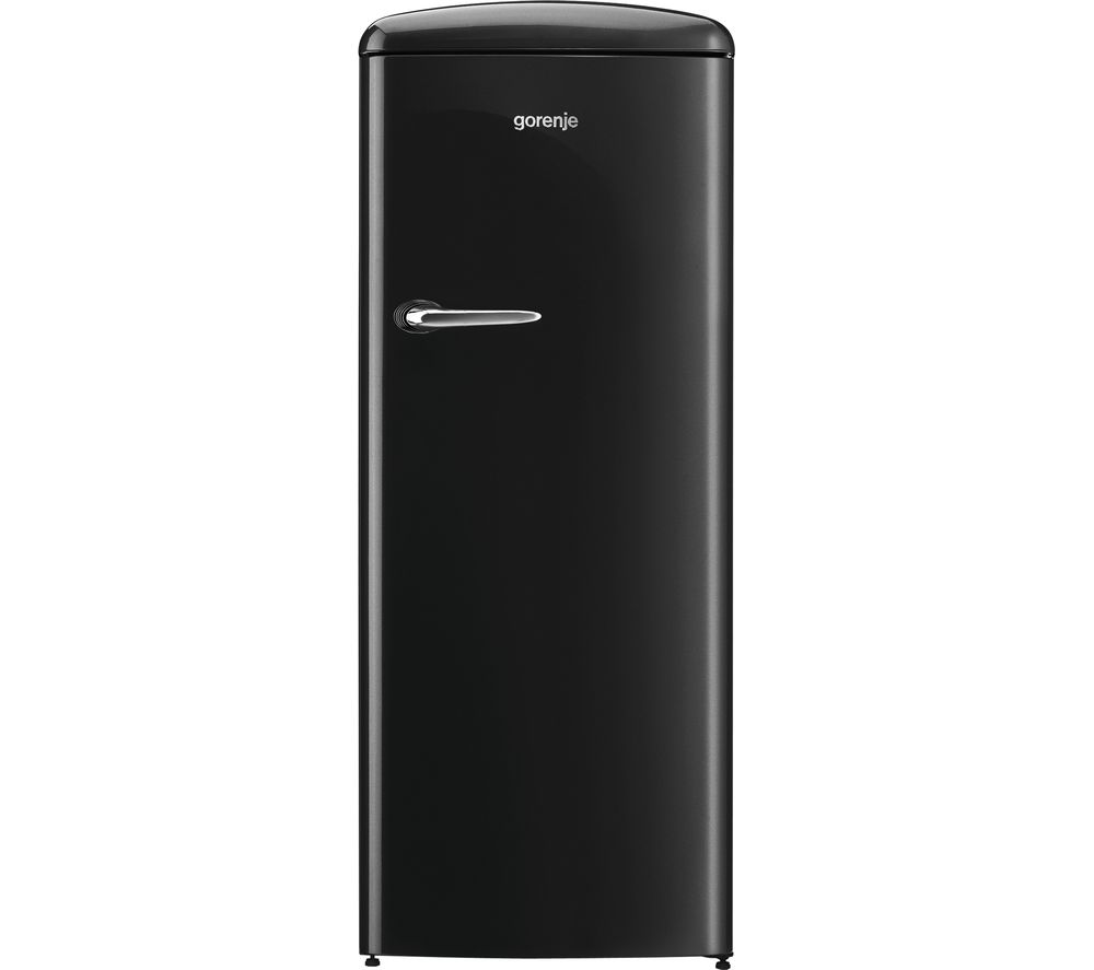 GORENJE ORB153BK Tall Fridge - Black