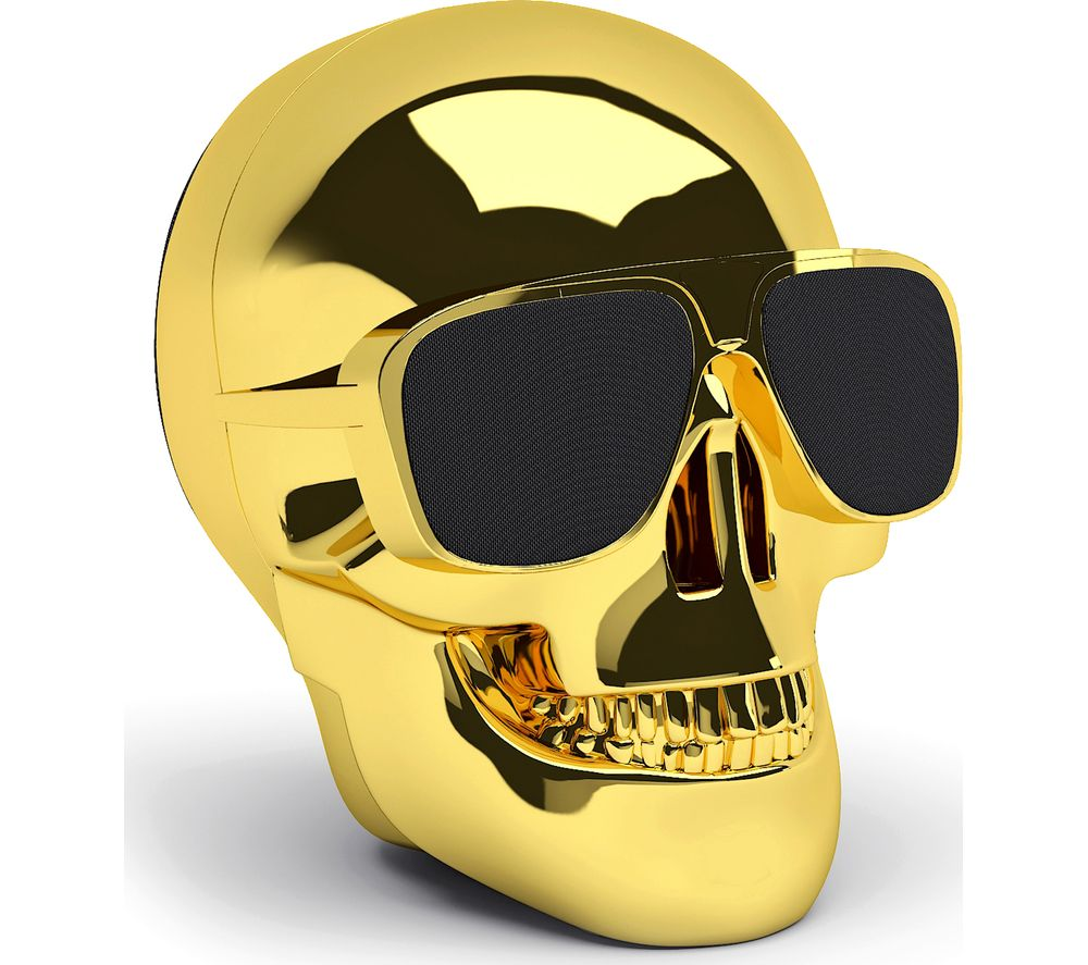 JARRE Aero Skull Nano ML80112 Wireless Portable Speaker - Gold