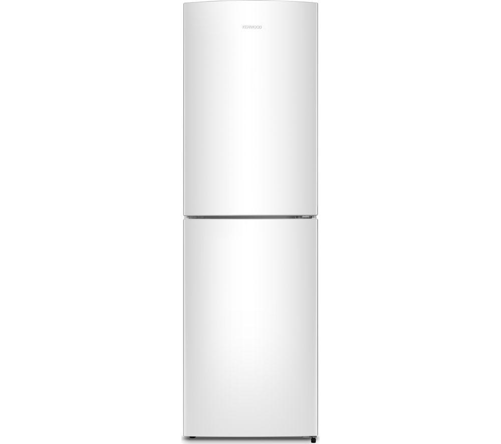 Image of KENWOOD KNF55W17 50/50 Fridge Freezer - White, White