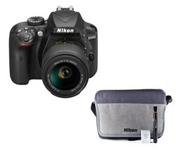 NIKON D3400 DSLR Camera with 18-55 mm f/3.5-5.6G Lens
