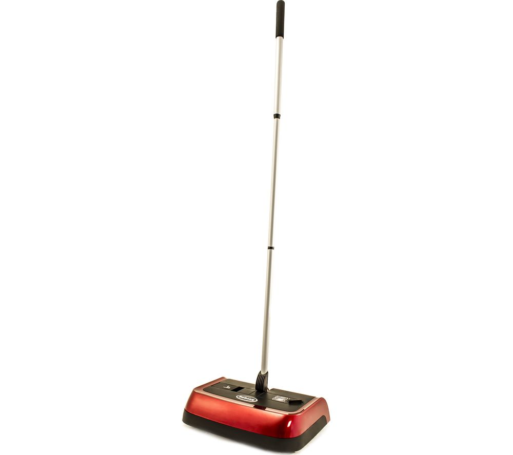 EWBANK Evolution 3 Floor & Carpet Sweeper - Red & Black, Red