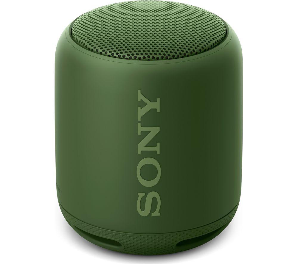 SONY SRS-XB10 Portable Bluetooth Wireless Speaker - Green