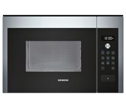 SIEMENS HF24M564B Built-in Solo Microwave - Stainless Steel