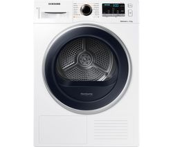 SAMSUNG DV90M5000QW/EU 9 kg Heat Pump Tumble Dryer - White