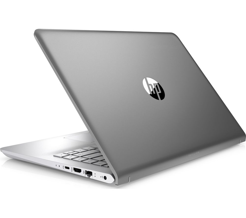 buy hp pavilion 14 bk063sa 14 laptop silver free delivery currys. Black Bedroom Furniture Sets. Home Design Ideas