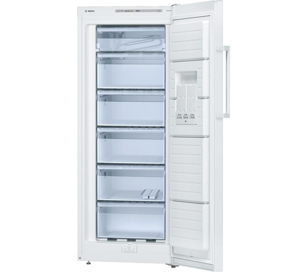 BOSCH GSV24VW31G Tall Freezer - White, White