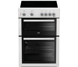 BEKO XTC611W 60 cm Electric Cooker - White Best Price, Cheapest Prices