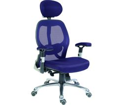 TEKNIK OA1013BL Cobham Reclining Executive Chair - Blue