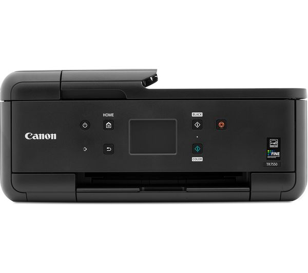 buy canon pixma tr7550 all in one wireless inkjet printer with fax cli 581 cyan magenta. Black Bedroom Furniture Sets. Home Design Ideas