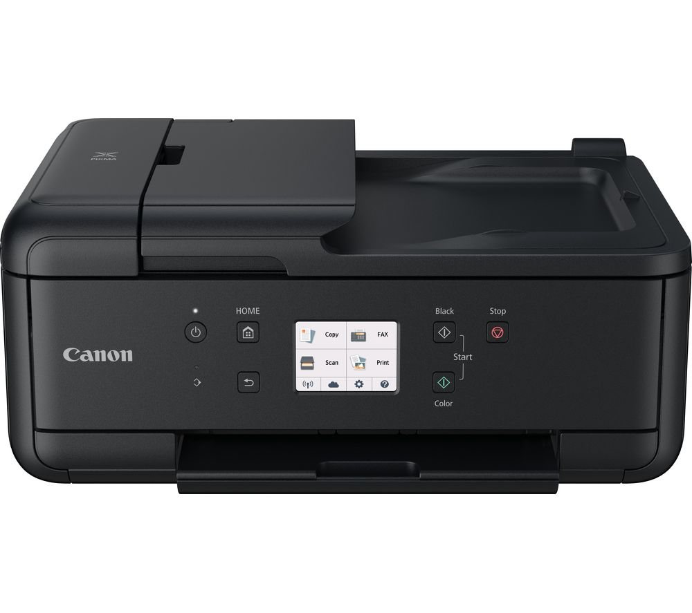 CANON PIXMA TR7550 All-in-One Wireless Inkjet Printer with Fax + CLI-581 Cyan, Magenta, Yellow & Black Ink Cartridges - Multipack + 80 gsm A4 Home & Office Paper - 500 sheets