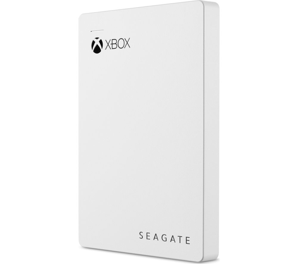 SEAGATE Gaming Portable Hard Drive for Xbox - 2 TB, White