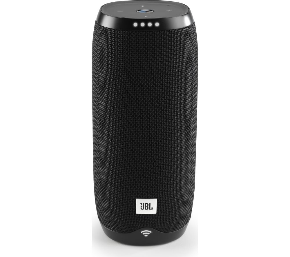 JBL Link 20 Portable Wireless Smart Sound Speaker - Black