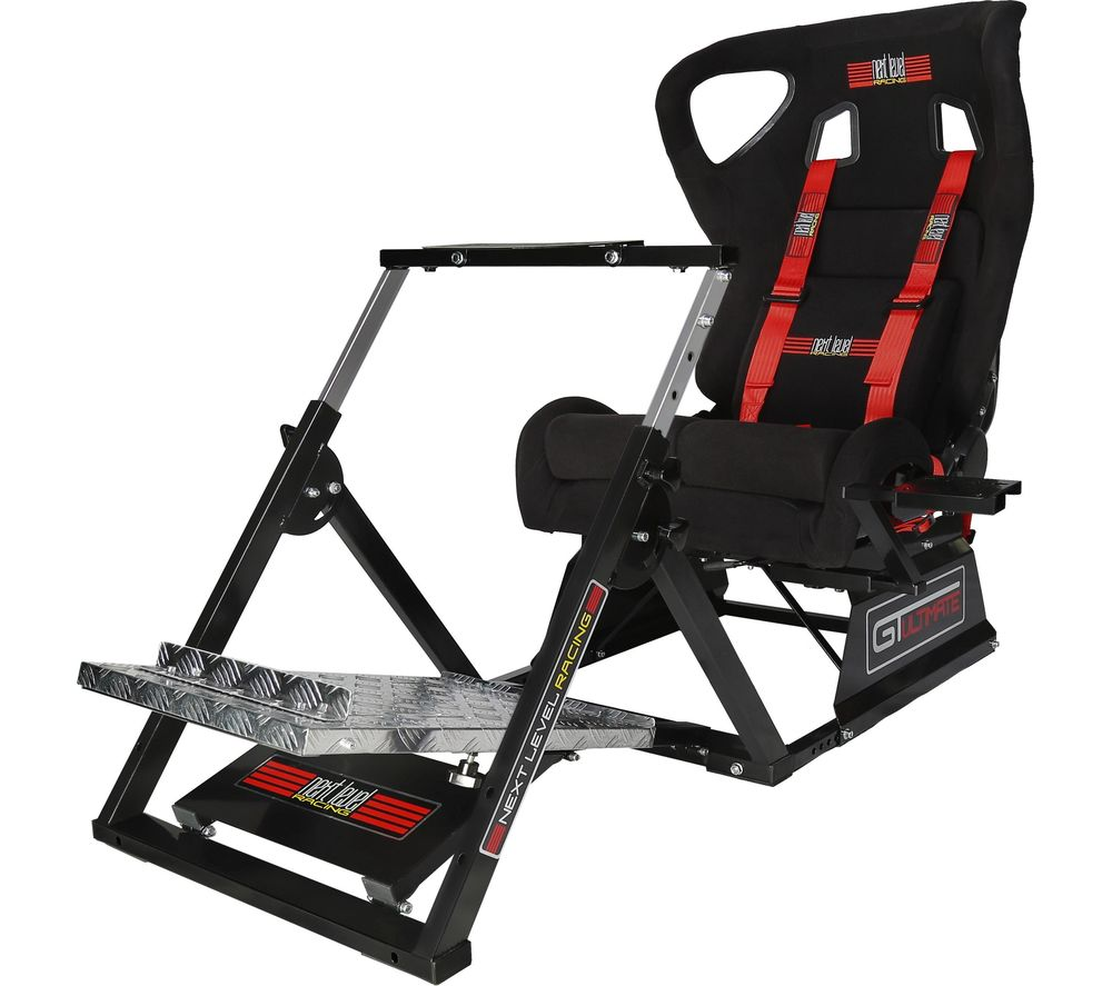 NEXT LEVEL Racing GT Ultimate v2 Gaming Chair - Black