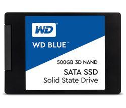 """WD Blue 3D 2.5"""" Internal SSD - 500 GB"""