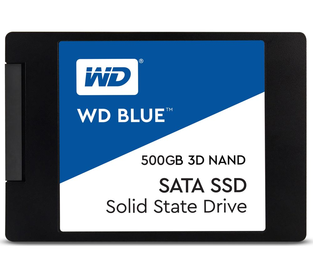 "WD Blue 3D 2.5"" Internal SSD - 500 GB"
