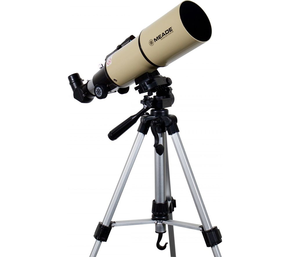 MEADE Adventure Scope 80 Refractor Telescope - Cream