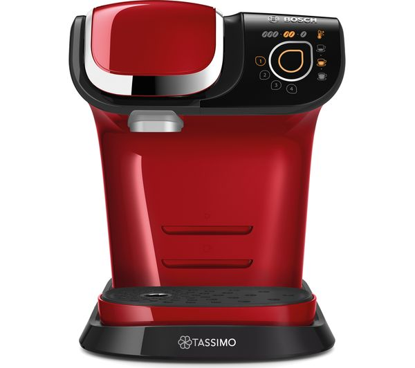 Image of TASSIMO by Bosch My Way TAS6003GB Coffee Machine - Red