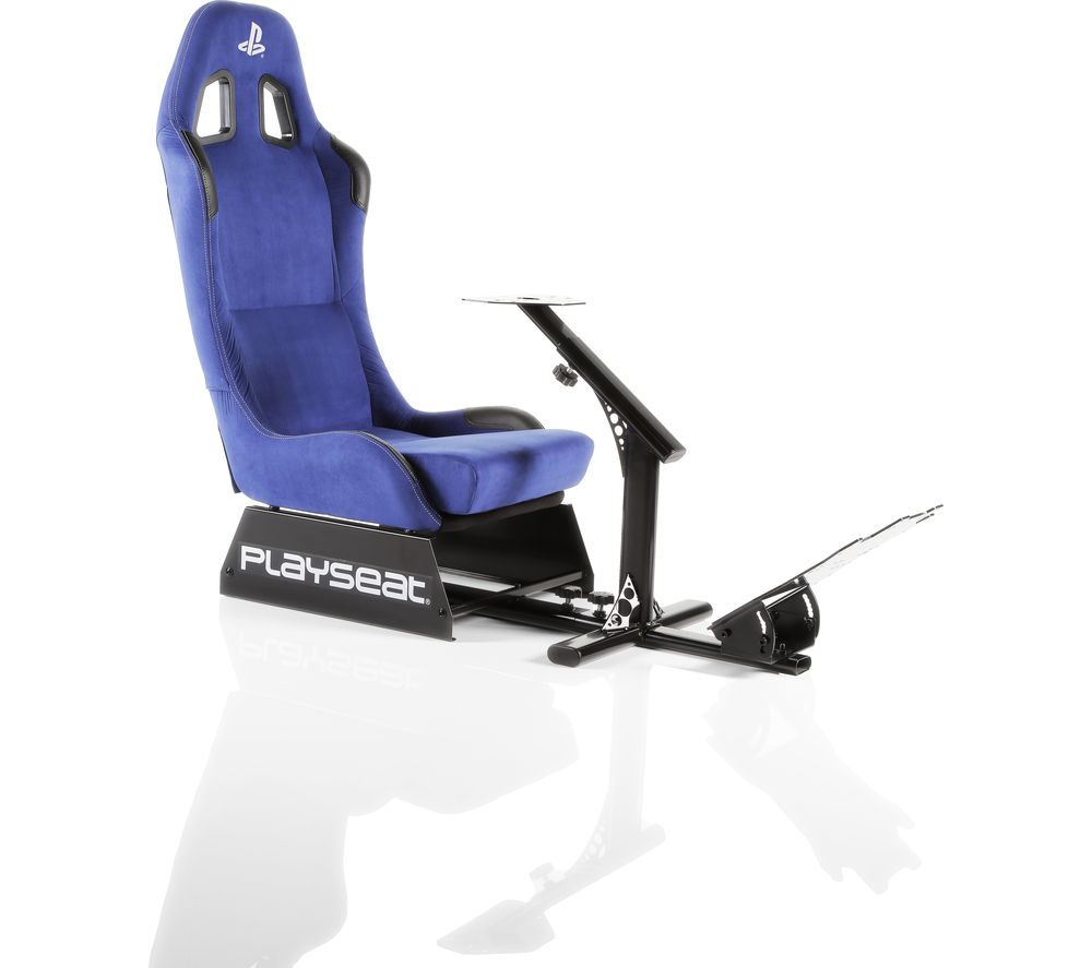PLAYSEAT Evolution Playstation Gaming Chair - Blue, Blue