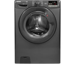 HOOVER DHL 14102D3R Smart 10 kg 1400 Spin Washing Machine - Graphite