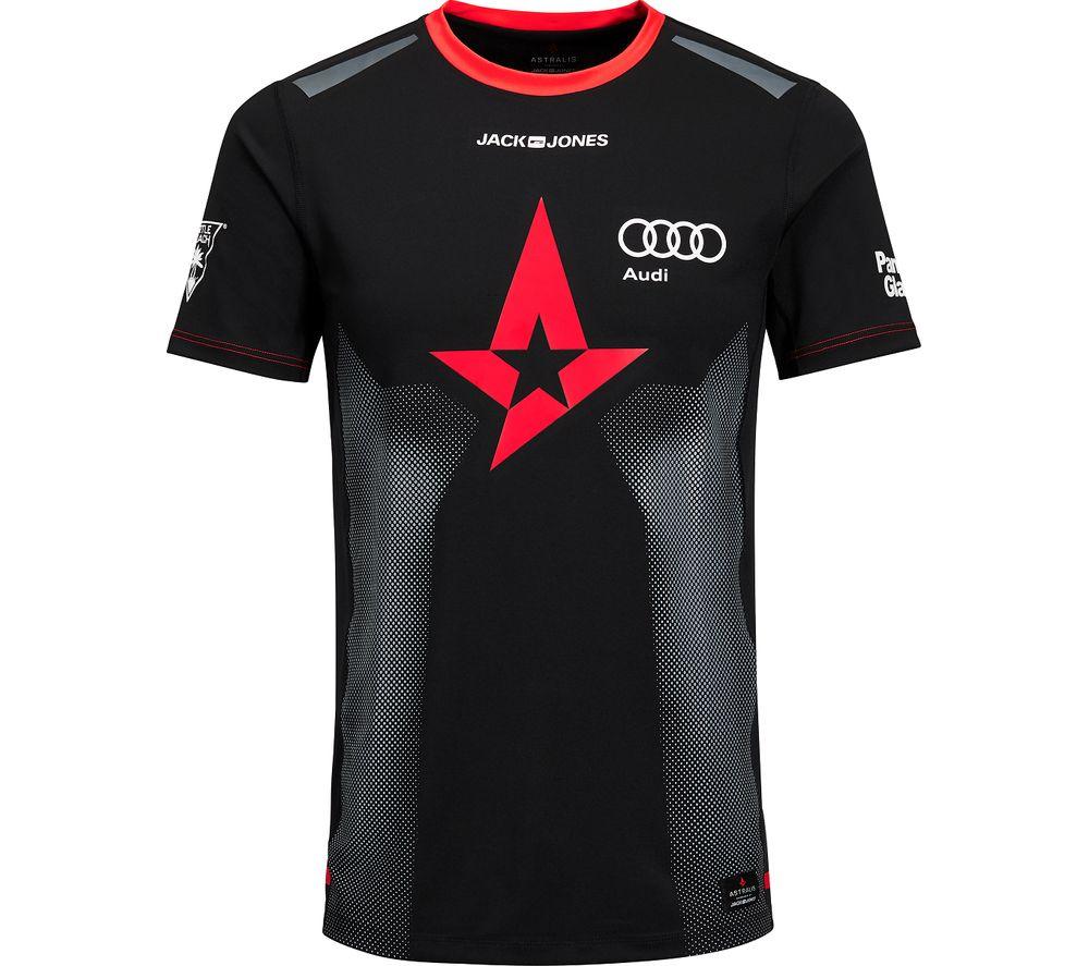 ASTRALIS T-Shirt - Large, Black