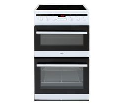 AMICA AFC5550WH 50 cm Electric Ceramic Cooker - White Best Price, Cheapest Prices