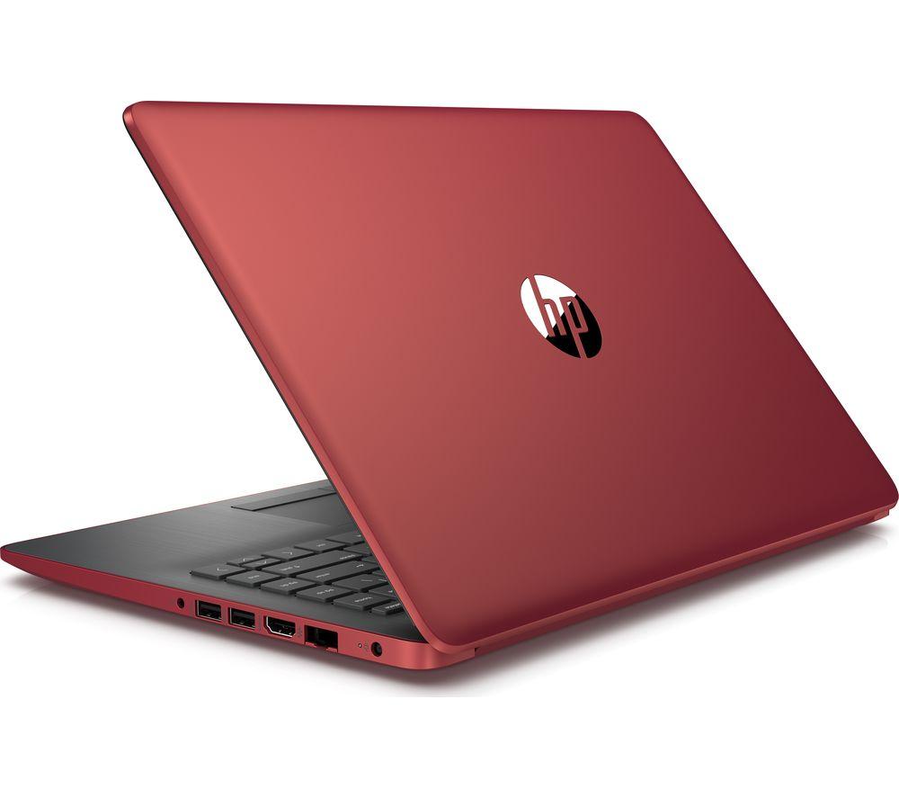 "HP 14-ck0521sa 14"" Intel® Core™ i5 Laptop - 256 GB SSD, Red"