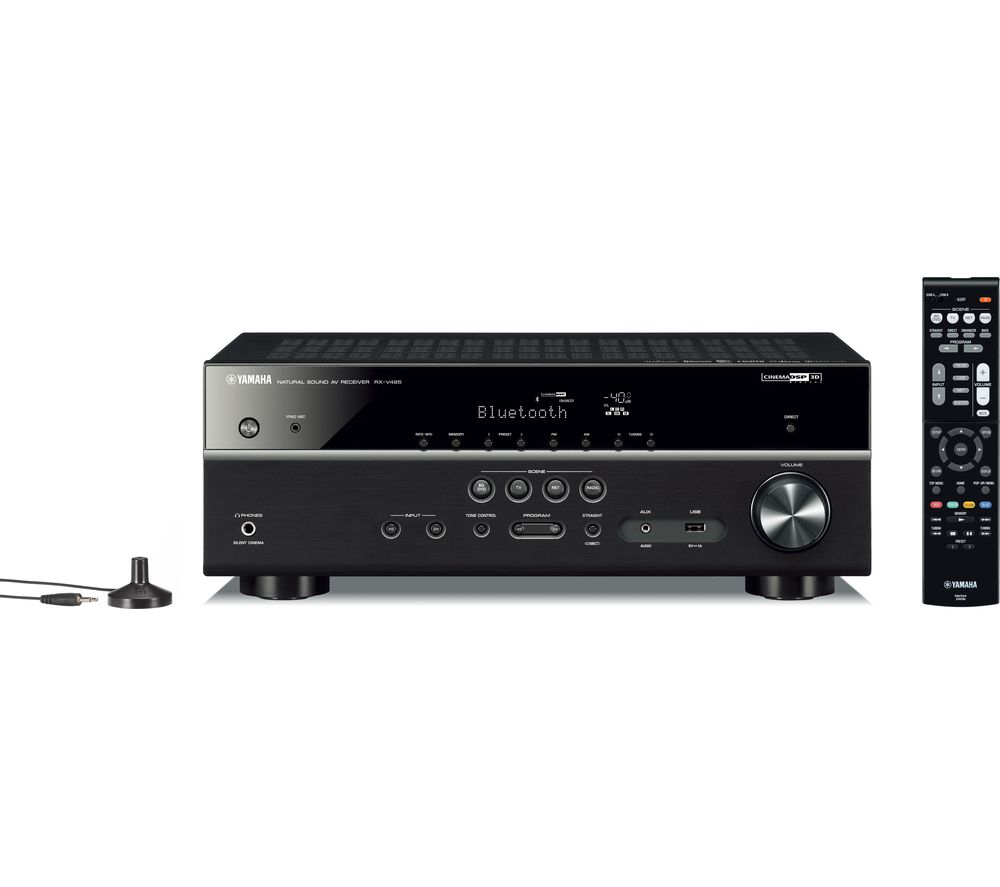 YAMAHA RX-V485 5.1 Wireless AV Receiver - Black