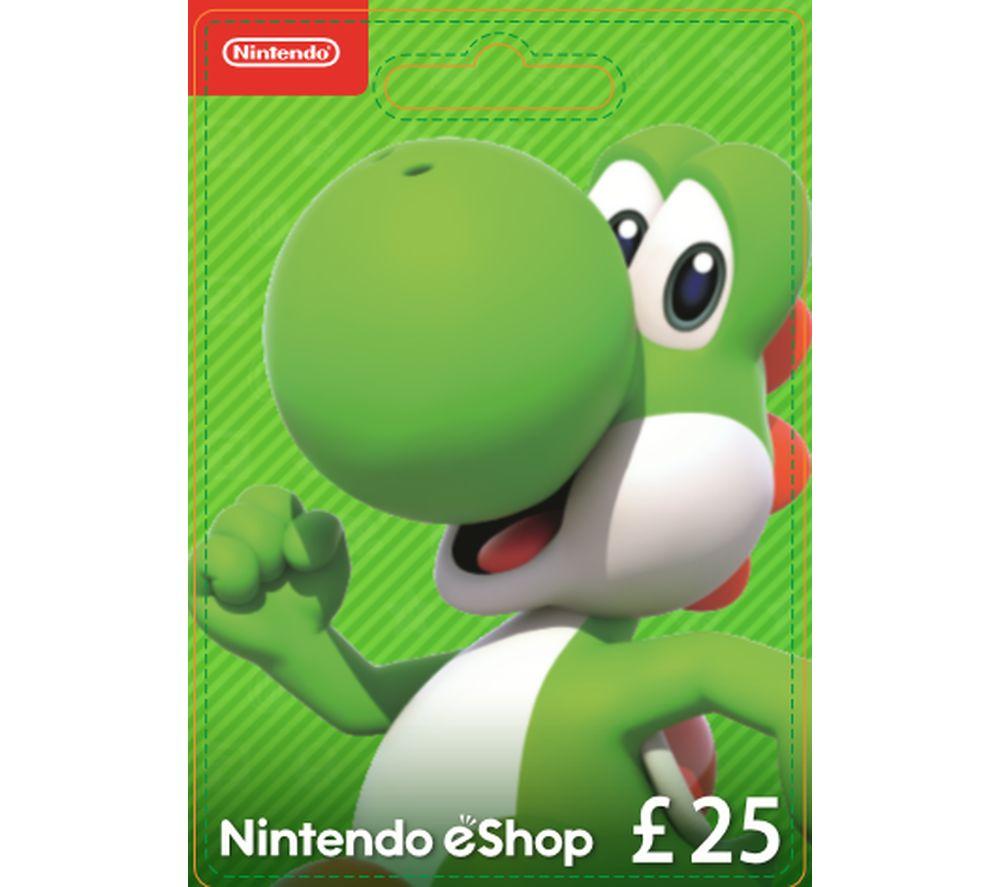 NINTENDO eShop Gift Card - £25