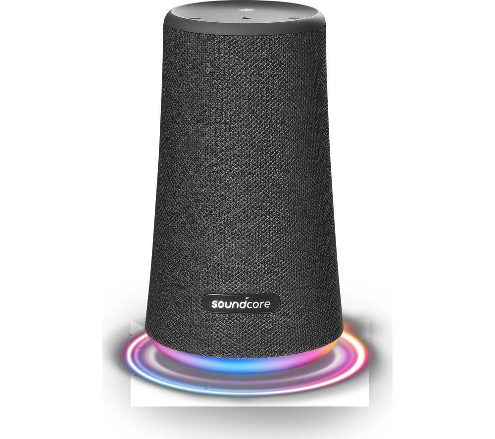 Image of SOUNDCORE Flare+ Portable Bluetooth Speaker - Black, Black