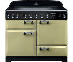 RANGEMASTER Elan Deluxe ELA110EIOG 110 cm Electric Induction Range Cooker - Green & Chrome