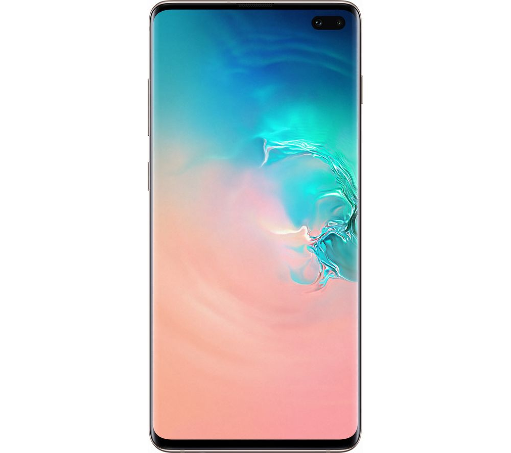 SAMSUNG Galaxy S10+ - 512 GB, Ceramic White