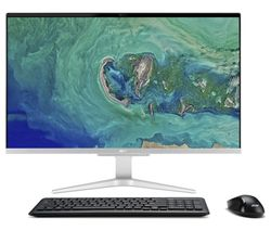 "Image of ACER Aspire C27-865 27"" All-in-One PC - Intel® Core¿ i5, 1 TB HDD & 256 GB SSD, Silver"