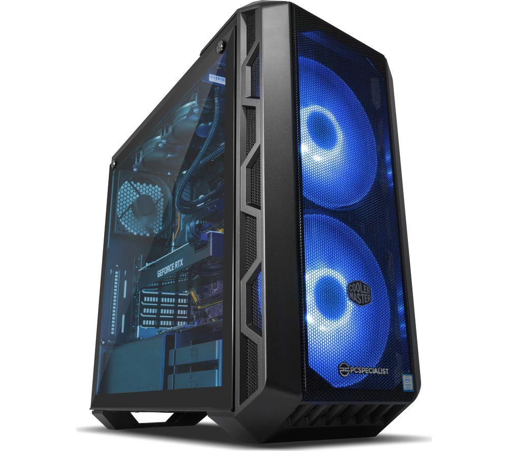 PC SPECIALIST Vortex XR Intel® Core™ i7 RTX 2080 Gaming PC - 2 TB HDD & 512 GB SSD