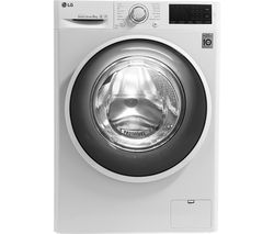 LG F4J608WN NFC 8 kg 1400 Spin Washing Machine - White