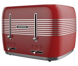 TA7870R 4-Slice Toaster - Red