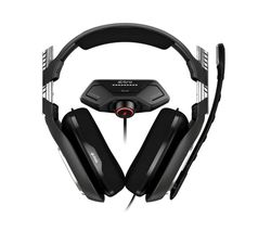 A40 TR Gaming Headset & MixAmp M80 - Black